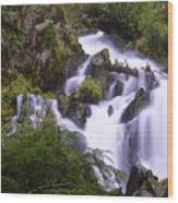 National Creek Falls 05 Wood Print