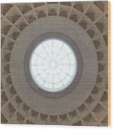 National Gallery Of Art Dome Wood Print