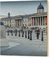 National Gallery Trafalgar Square Wood Print