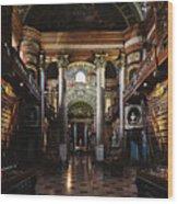 National Library, Vienna Wood Print