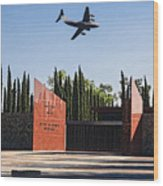 National Medal Of Honor Memorial Fly Over Wood Print