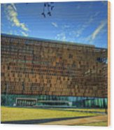 National Museum Of African American History And Culture Wood Print
