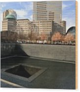 National September 11 Memorial New York City Wood Print