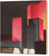 National Theatre London Wood Print