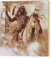 Native American 093201 Wood Print