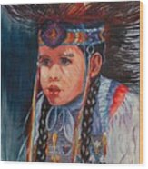 Native American Dance Wood Print