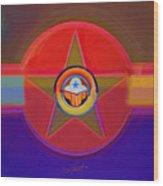 Native American Decal Wood Print