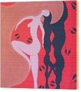 Native American Love Migration Wood Print