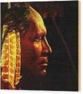 Potawatomi Chief Wood Print