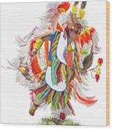 Native Rhythm Wood Print