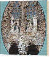 Nativity Barcelona Wood Print