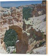 Natural Arch Bryce Canyon - Utah Wood Print