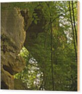 Natural Arch Wood Print