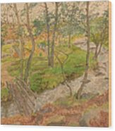 Natural Beauty Of Grindleford Wood Print