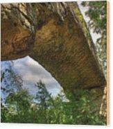 Natural Bridge Span Wood Print