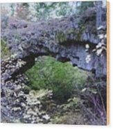 Natural Bridge Two   Wood Print
