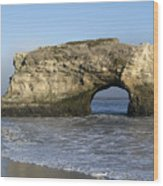 Natural Bridges State Park - Santa Cruz - California Wood Print