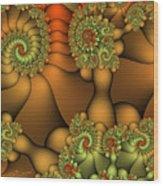 Natural Jewels Wood Print