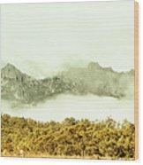 Natural Mountain Beauty Wood Print