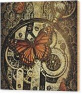 Like Clockwork Wood Print