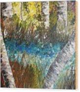 Nature Coast's Goalpost Wood Print