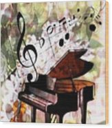 Nature Is Music To My Soul Wood Print