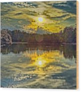 Nature Landscapes Around Lake Wylie South Carolina Wood Print