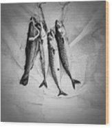 Nature Morte Dans Le Cuisine - Still Life In The Kitchen. Wood Print