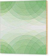 Nature Semi Circle Background Horizontal Wood Print