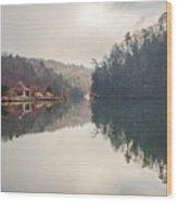 Nature Views Near Chimney Rock And Lake Lure Wood Print