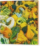 Natures Bounty Wood Print