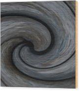 Nature's Illusions- Yin And Yang Wood Print
