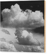 Nature's Mushroom Cloud Wood Print