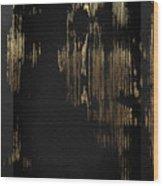 Nature's Secret Code - The Wood Grain Message #3 Wood Print