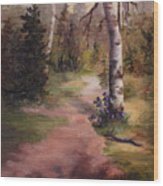 Natures' Trail Wood Print