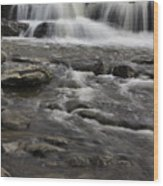 Natures Water Beauty Wood Print
