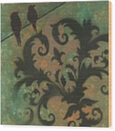 Natures Whimsy 4 By Madart Wood Print