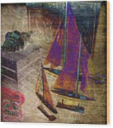 Nautica-iii Wood Print