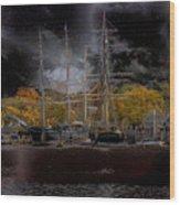 Nautical-7-a Wood Print