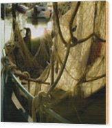 Nautical Dreams Wood Print