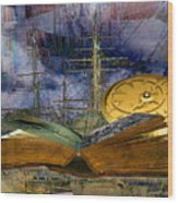 Nautical Wood Print