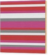 Nautical Stripes Wood Print