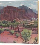 Navajo Corral Wood Print