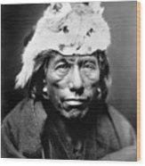 Navajo Man, C1905 Wood Print