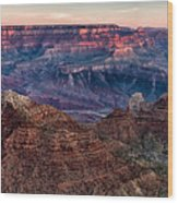 Navajo Point Sunrise Wood Print