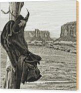 Navajo Saddle Wood Print
