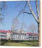 Naval Square - Philadelphia Pa Wood Print