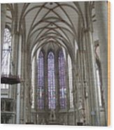 Nave - St Lambertus - Germany Wood Print