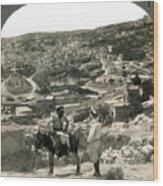 Nazareth, Palestine, C1920 Wood Print