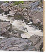 Near Barrow Falls Wood Print